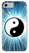 Yin Yang IPhone Case by Tim Gainey