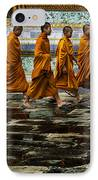Young Monks IPhone Case by Rob Tullis