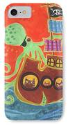 You've Been Pirated IPhone Case by Kate Cosgrove