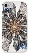 Zebra Flower IPhone Case
