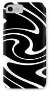 Zebra Pattern IPhone Case by Lali Kacharava