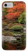 Zen Foliage Colors IPhone Case by Mike Reid