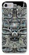 Zengine V1 IPhone Case by Pixel Chemist