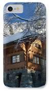 Zermatt Chalet IPhone Case by Brian Jannsen
