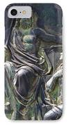 Zeus Bronze Statue Dresden Opera House IPhone Case by Jordan Blackstone
