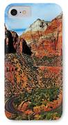 Zion Hairpin IPhone Case