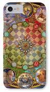 Zodiac Mandala IPhone Case