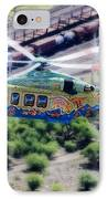 Zoo Flying IPhone Case by Paul Job