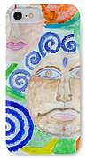 Faces IPhone Case by Sonali Gangane
