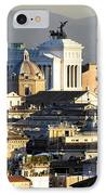 Rome's Rooftops IPhone Case by Fabrizio Troiani