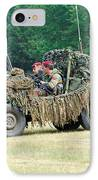 A Recce Unit Of The Belgian Army IPhone Case
