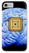 Artificial Intelligence And Cybernetics IPhone Case