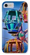 Balloon Ride No. 5 IPhone Case by Colleen Kammerer