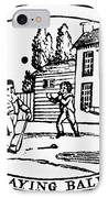 Baseball Game, 1820 IPhone Case by Granger