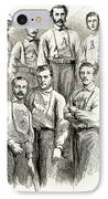 Baseball Teams, 1866 IPhone Case