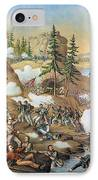Battle Of Chattanooga 1863 IPhone Case by Granger