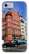 Busy Street Corner In London IPhone Case by Elena Elisseeva