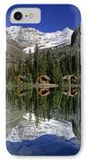 Cabins, Sargents Point, Lake Ohara IPhone Case