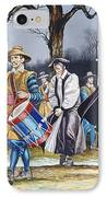 Charles I's Last Walk IPhone Case by Ron Embleton