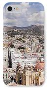 City Of Guanajuato From The Pipila Overlook At Dusk IPhone Case by Jeremy Woodhouse