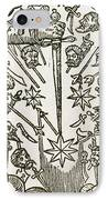 Comet, 1665 IPhone Case