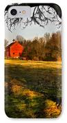 Country Life IPhone Case by Susan Candelario