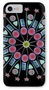Diatom Assortment, Sems IPhone Case by Steve Gschmeissner
