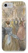 Dickens: Our Mutual Friend IPhone Case by Granger