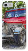Dusty Pick-up Hot Rod IPhone Case by Kantilal Patel