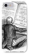 Election Cartoon, 1876 IPhone Case by Granger