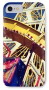 End Of The Pier Show IPhone Case by Chris Jones