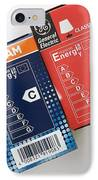 Energy Efficiency Rating Label IPhone Case