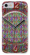 Faces Of Time 2 IPhone Case by Mike McGlothlen