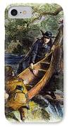 Father Jacques Marquette IPhone Case by Granger