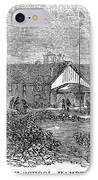 Freedmens School, 1868 IPhone Case