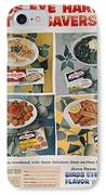 Frozen Food Ad, 1957 IPhone Case