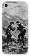 Gold Prospectors, 1876 IPhone Case