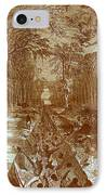 Grants Canal, 1862 IPhone Case