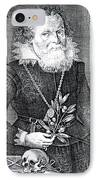 Gregor Horstius, German Physician IPhone Case by Science Source