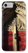 Heinz Chapel Doors IPhone Case by Thomas R Fletcher