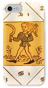 Horoscope Types, Engel, 1488 IPhone Case