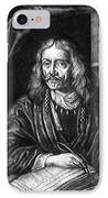 Johannes Hevelius, Polish Astronomer IPhone Case by Science Source