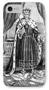 King Andrew The First IPhone Case by Granger