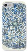 Lm Of Ranunculus Stem IPhone Case by M. I. Walker
