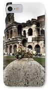 love locks in Rome IPhone Case