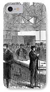Ludlow Street Jail, 1868 IPhone Case by Granger