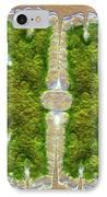Microsterias Green Alga, Light Micrograph IPhone Case by Frank Fox