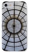 Milan Galleria Vittorio Emanuele II IPhone Case by Joana Kruse