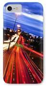 Night Traffic IPhone Case by Elena Elisseeva