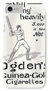 Ogdens Cigarettes, 1897 IPhone Case